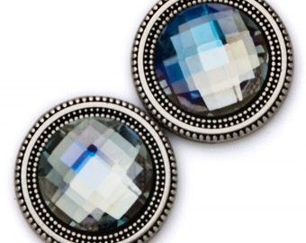 Magnet Button Mystic Crystal For Sweaters & Scarves