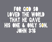 Printable - John 3:16