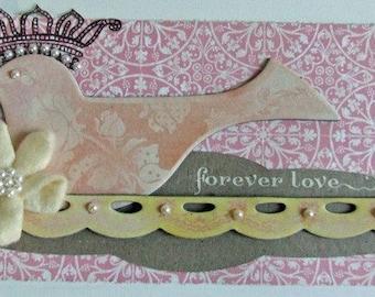Forever love scrap