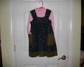Jumper,Back to School,Cotton, Comfortable,Large Pockets,Sizes 3-10