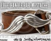 The Love-Handle-Bar-Mustache Belt Buckle
