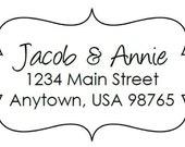 Custom Address Stamp - Annie
