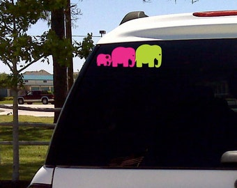 Elephant Decal for Vehicle