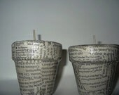 Words - Pair of Candles