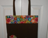 Lauren Tote Bag with Applique -Very Easy sew instruction PDF Ebook-Includes Applique instructions Great for beginners