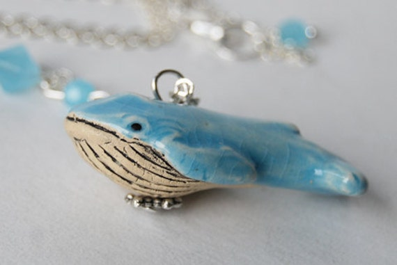 The Blue Whale Necklace