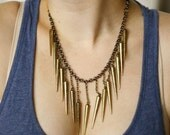 AMAZONIAN - Bronze Statement Necklace