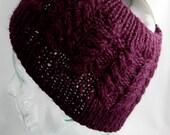 Cabled Ski Band - Knit Pattern
