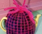 Mosaic Tea Cozy - Knitting Pattern