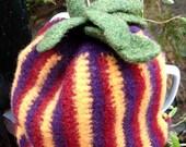 Felted Tea Cozy - Crochet Pattern