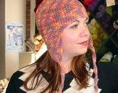 Earflap Cap Pattern - Crochet Pattern