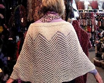Mayda Shawl Pattern - Knit