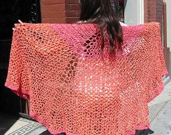 Cobweb Shawl - Crochet Pattern