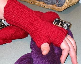 Stockinette Wristwarmers - Knit Pattern