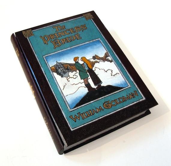 The Princess Bride 1.0 hideaway book box- unique & hand decorated