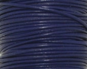 Greek Leather, Purple, Round Leather, 1mm 5 yards