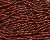 Brown ,Opaque 6/0, 8/0 or 11/0Czech Seed Beads SB-13600
