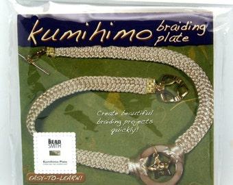 Kumihimo Square Braiding Board w/Instructions (written in ENGLISH)