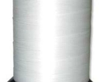 White 00 Nymo Large Spool 3oz  4852 yards