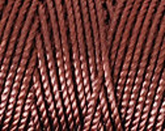 Brown C-Lon Tex 400 Beading Cord 43 Yards