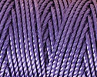 Purple, Medium C-Lon Tex 400 Beading Cord 43 Yards