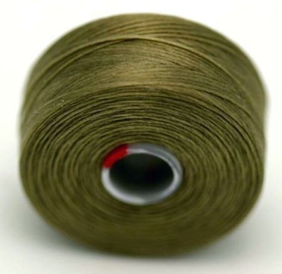 ash c lon seed bead thread 2 bobbins size d