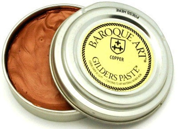 Gilders Paste, Patina Paste, This Color is Called COPPER, comes with a Free Horse Hair Applicator Brush More Colors than Anyone, 28 in All