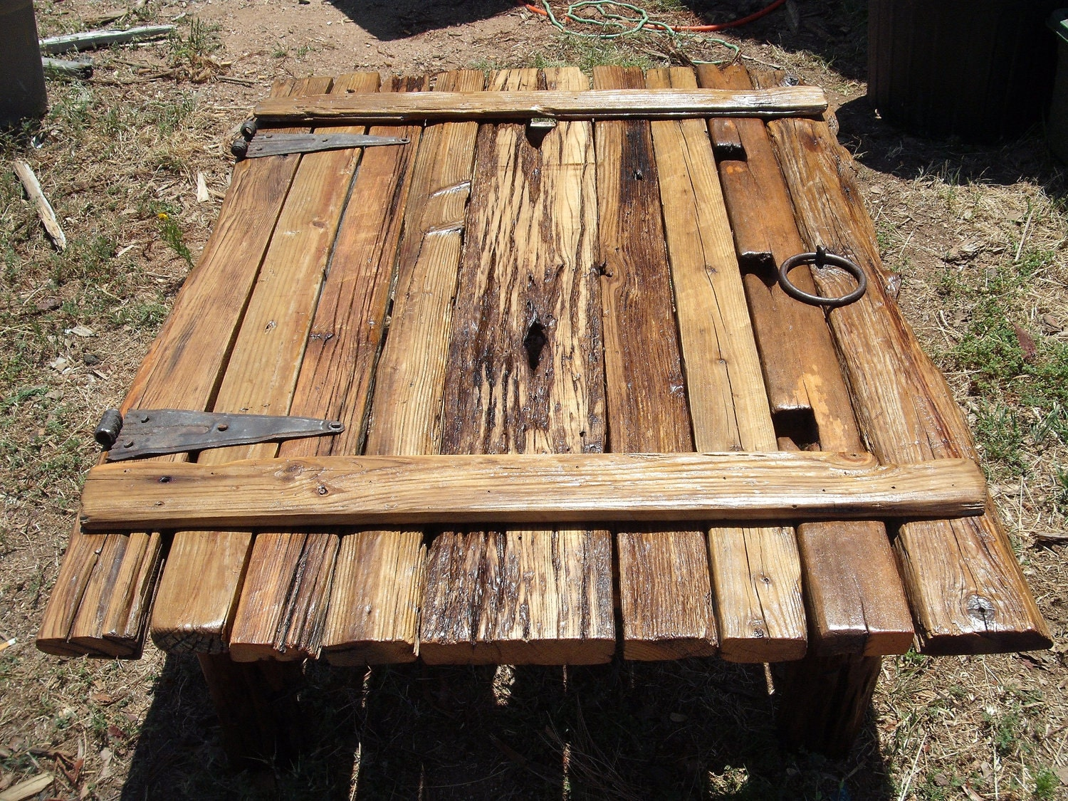 unavailable listing on etsy With barn door coffee table for sale