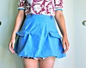 The Skipper- A Wrap Around Mini Skirt
