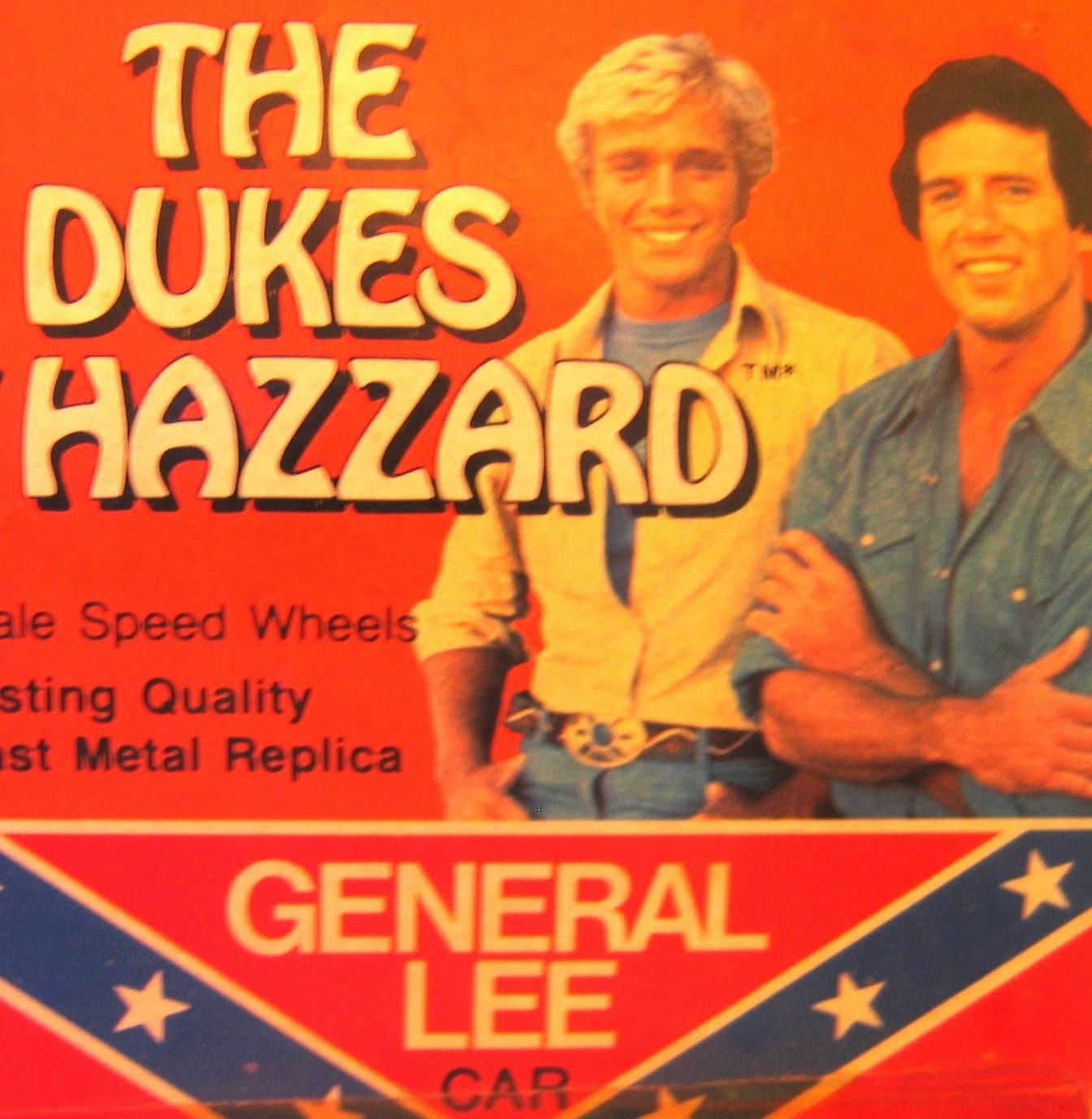Dukes Of Hazzard Conferate General Lee Matchbox Car By