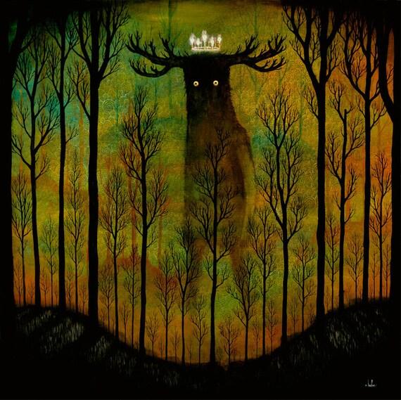 Lord of Ghouls Print - AP