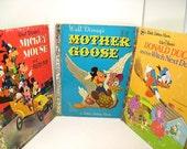 3 Vintage Little Golden Books