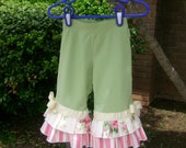 Upcycled\/recycled yoga knit Children's Place pants 18 mos.