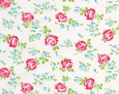 Sugar Hill Collection by Tanya Whelan Scattered Roses in White