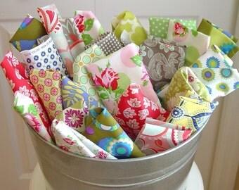 FREE SHIPPING - Fabric Scraps . . . 4 Yards or 24 oz . . . Amy Butler - Tanya Whelan - Pillow and Maxfield - Sarah Jane - Sandi Henderson