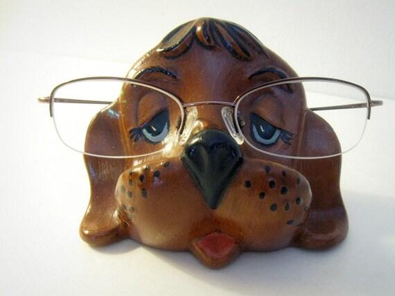 Vintage Dog Beagle Eyeglass Holder