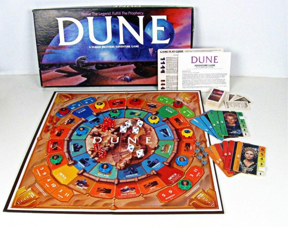 Vintage Board Game Dune Parker Brothers Sci Fi 1980s