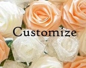 Customize Your Origami Rose Bouquet (1 Dozen Gift Wrapped), Anniversay Gift, Valentines day gift, Party favors