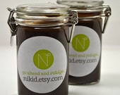 Chocolate Spoon Fudge-Rich and Chocolaty-A Little Goes a Long Way-4 Ounce Jar