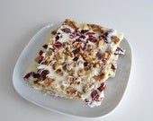 Organic Cranberry Walnut White Chocolate Candy