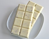 White Chocolate Almond Candy Bars