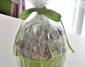 Gift Easter Basket Dark Milk & White Chocolate Assortment 4 Lbs