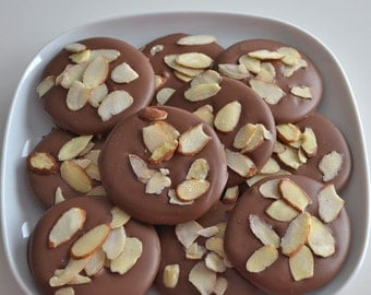 Chocolate Almond Candy 1 Dozen