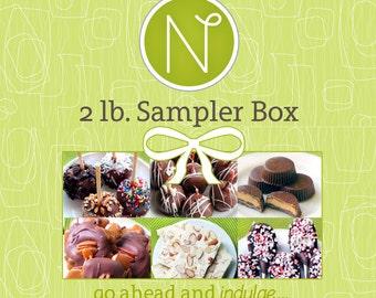 Chocolate Candy Sampler 2 Lb. Box