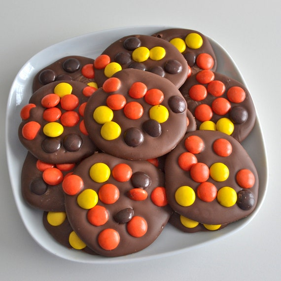Reeses Pieces Milk Chocolate Candy 12 pieces