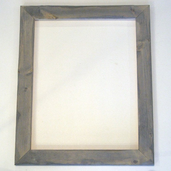 11x14 barnwood style picture frame . . . hand made, hand milled, hand ...