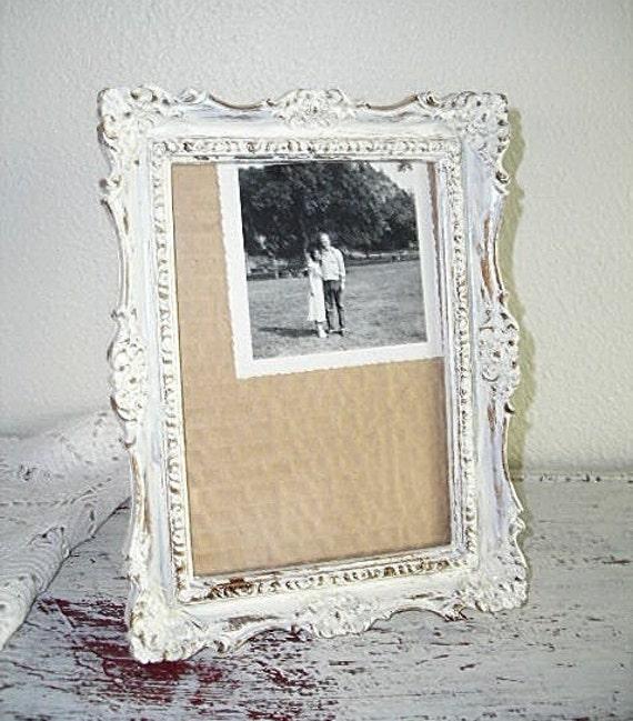 creamy white picture frame