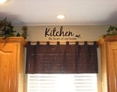 Kitchen the heart of our home Vinyl Wall Words