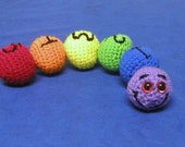 crochet rainbow snake