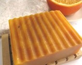 Ginger Orange Vetiver soap with organic shea butter